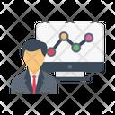 Manager Presentation Stock Icon