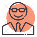 Manager Avatar Character Icon