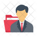 Manager File Employee Icon