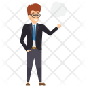 Manager Making Plans Icon