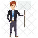 Manager On Strike Icon
