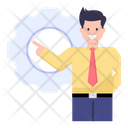 Manager Person Icon