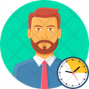 Manager Time Icon