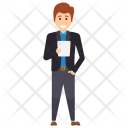 Male Man Standing Icon