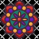 Mandala Flower Petals Icon