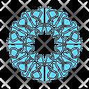 Mandala Indian Decoration Icon
