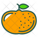Mandarin Orange Fruit Icon