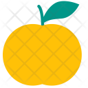 Mandarin Orange Citrus Icon