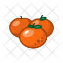 Mandarin Fruits Fruite Icon
