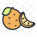Mandarin Fruit Food Icon