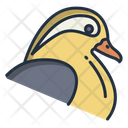 Mandarin Duck Icon