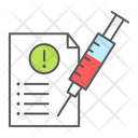 Mandatory Injection Vaccination Report Mandatory Icon