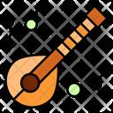 Mandolin Music Instruments Icon