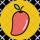 Mango Stone Fruit Icon
