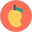 Mango Fruit Stone Icon