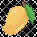 Mango Healthy Food Organic Fruit Icon