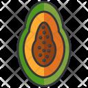 Mango Half Icon
