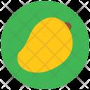 Mango Fleshy Tropical Icon