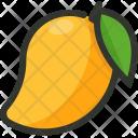 Mango Fruit Tropical Icon