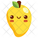 Mango Fruit Face Icon