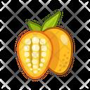 Mango Cut Fruits Fruite Icon