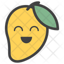 Mango Emoji Fruit Emoticon Emotion Icon