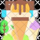 Mango Ice Cream Icon