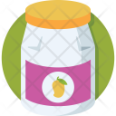 Mango Jam Jar Icon