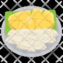 Mango Sticky Rice Icon