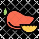 Mango Vegetables Fruit Icon