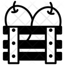 Mangoes Crate Icon