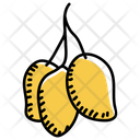 Fruit Mangos Edible Icon