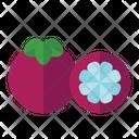 Mangosteen Organic Vegetarian Icon
