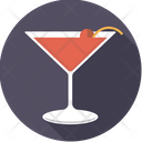 Manhattan Cocktail Icon