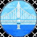 New York Bridge Manhattan Bridge Footbridge Icon