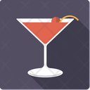 Manhattan Cocktail Alcohol Icon