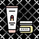 Manicure Cream Cosmetics Icon