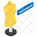 Mannequin Dressmakers Dummy Clothing Hanger Icon