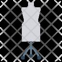 Mannequin Cloth Dress Icon