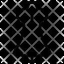 Line Dress Cloth Icon