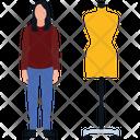Mannequin Dress Designer Dummy Icon