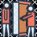 Manner Welcome Open Door Icon