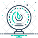 Manometer Ammeter Analog Icon