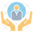 Manpower Hand Human Resource Icon