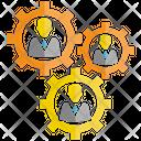 Manpower Cog Gear Icon