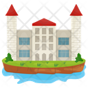 Residential Building House Mansion Icon