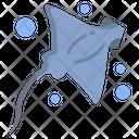 Manta Ray Sea Animal Animal Icon