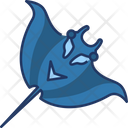 Manta Ray Animal Fish Icon