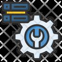 Mantenance Data Management Data Processing Icon