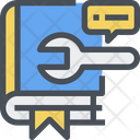 Manual Study Support Support Icon